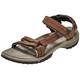 Teva Terra Fi Lite Leather Sandały Kobiety brązowy